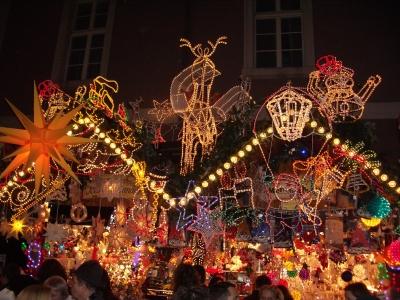 Weihnachtsmarkt  2007  in Karlsruhe