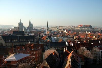 Dezembertag in Erfurt