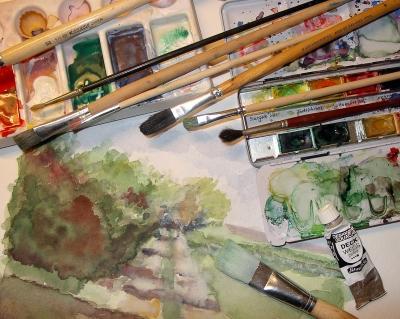 Atelierszene 1