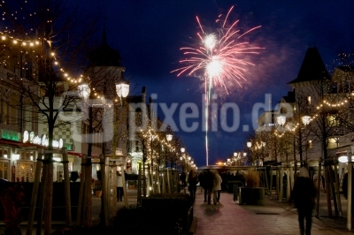 Feuerwerk in Binz