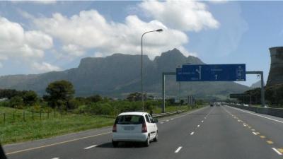 Der Tafelberg in Kapstadt