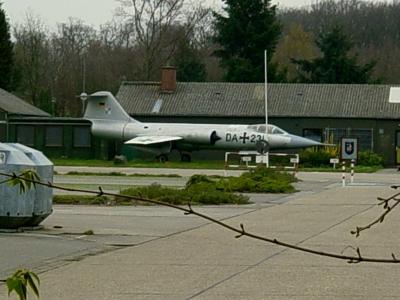 Oldtimer der Lüfte - Jagdbomber - Starfigther F104-G