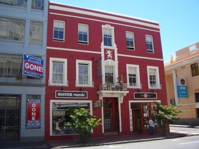 Haus in Kapstadt auf der Longstreet