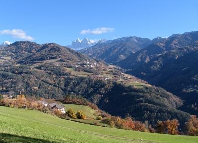 Südtirol: Geislergruppe mit Teis