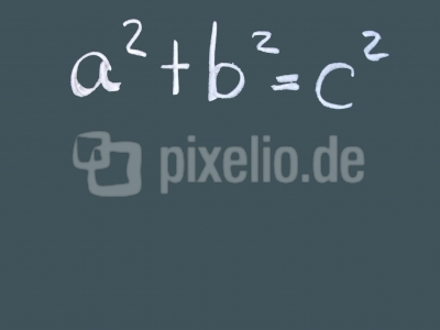 a² + b² = c²