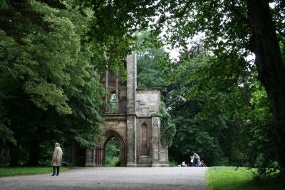 Weimar-Ruine Tempelherrenhaus