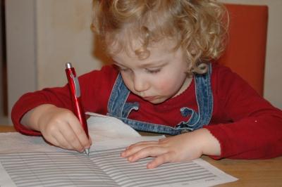Die kleine Schriftstellerin