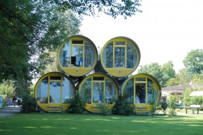 swiss tube house