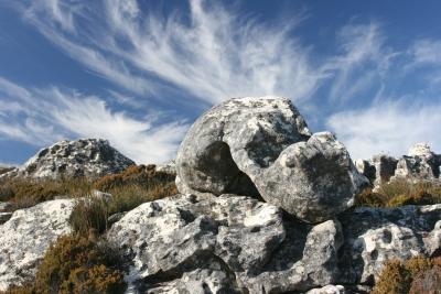 Felsen & Wolken
