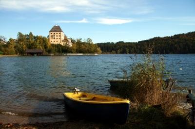Fuschlsee und Schloss Fuschl