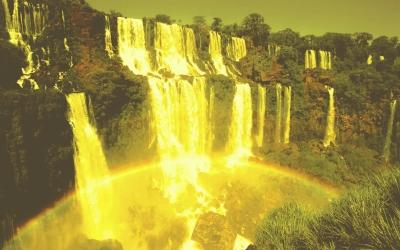 Wasserfall in Venecuela
