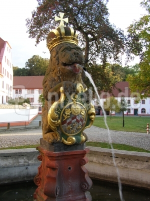 Brunnen im Kloster St. Marienstern