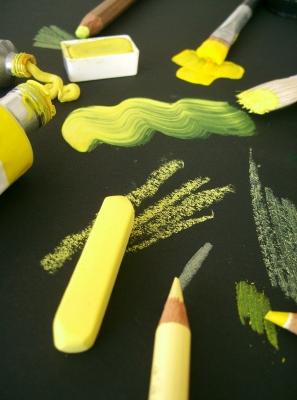 kreativ gelb