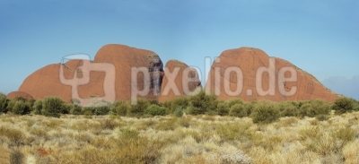 Panorama Kata Tjuta, Australien 2002