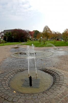 Brunnen auf der Promenade von Langenargen