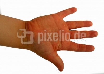 Kinderhand Handteller rechts