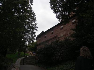 Treppe nach oben in Mögeldorf