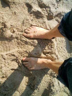 Fußansichten