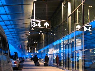 Flughafen-Terminal
