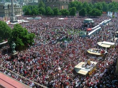 WM 2006 am Stuttgarter Schlossplatz