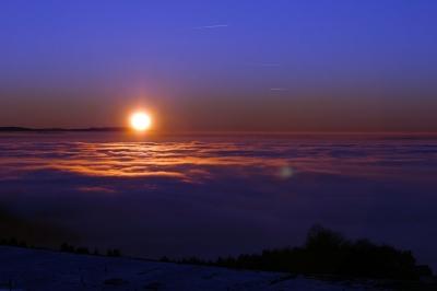 Sunset im Vogtland