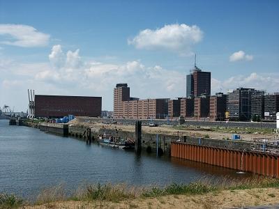 Hafencity - Dalmannkai vor der Bebauung
