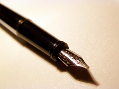 Schöne Schreibfeder