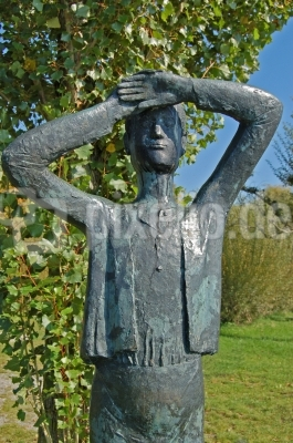 Statue »Der liebe Augustin« in Wasserburg a. B.