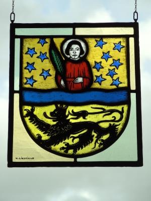 Altes Wappen der Stadt Mönchengladbach.