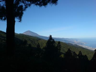 Blick auf Pico del Teide