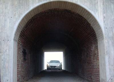 Maserati mit Tunnelblick ...
