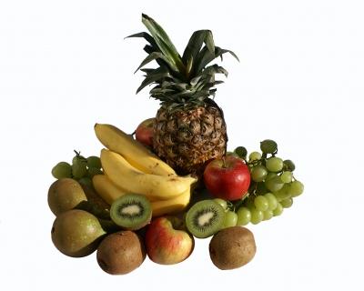 Zutaten für Obstsalat