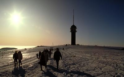 Feldberg-Gipfel im Winter