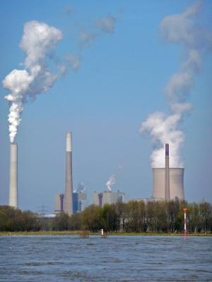 Kraftwerk am Rhein