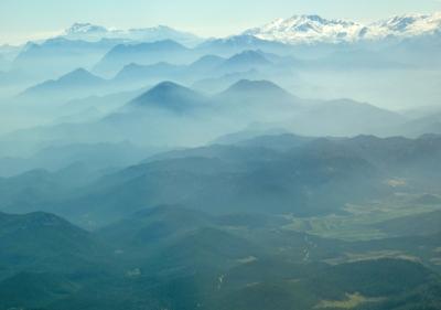 Blaue Berge Türkei