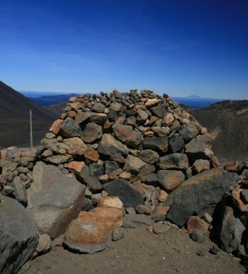 Steinhaufen Tongariro