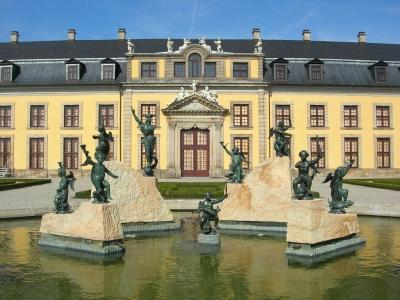 Hannover-Herrenhausen - der Neptunbrunnen
