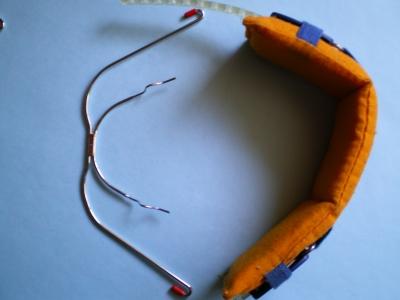 Headgear mit Nackenbogen Zahnspange