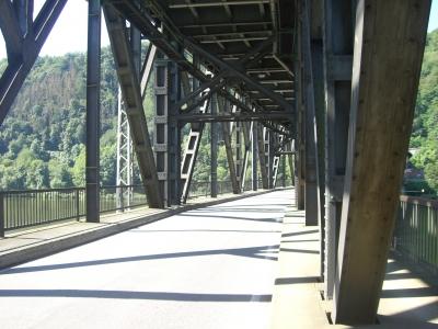 Doppelbrücke in Bullay