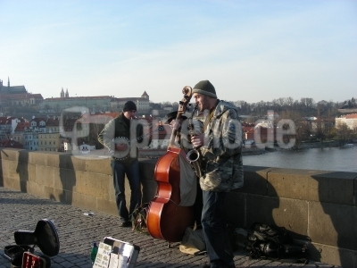 Jazband in Prag