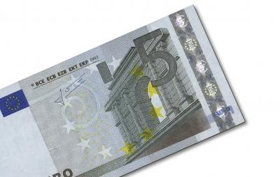 Geldschein: 5 Euro