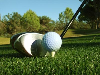 Golfschläger Driver, quer_2