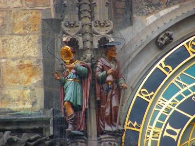 der Geizige und der Eitle in Prag