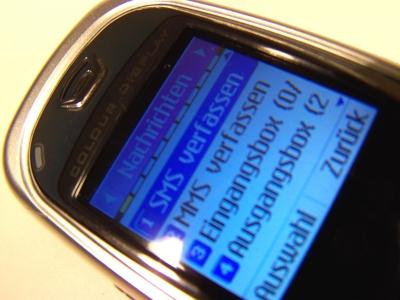 Schreib ´ne SMS!