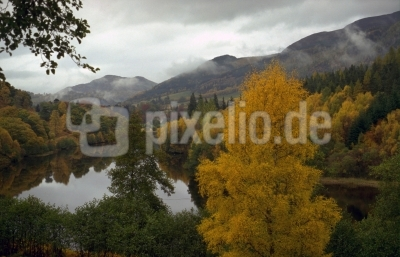 Herbst in Schottland