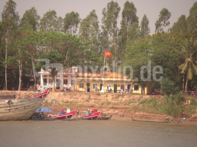 Grenze Kambodscha Vietnam