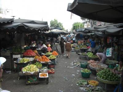 Markt in Chau Doc