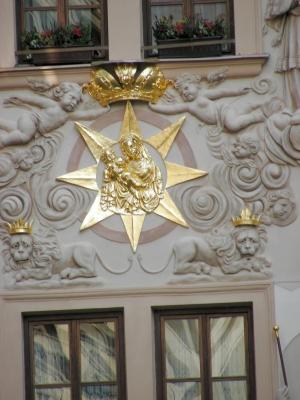 Haus zum goldenen Brunnen in Prag