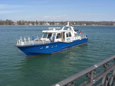 Polizeiboot in Konstanz