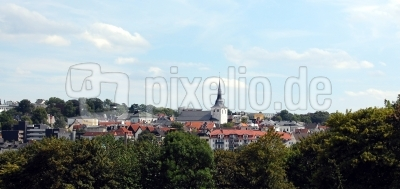 Blick über das Zentrum von Lüdenscheid